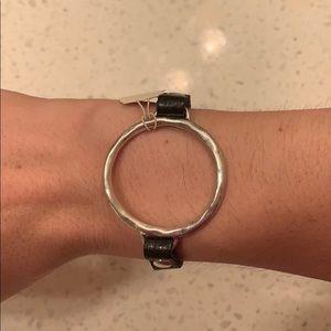 Lucky Brand - Black Leather Bracelet